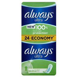 Always Ultra Standard Podpaski higieniczne 24 sztuki