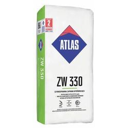 Zaprawa wyrównująca do ścian – masa ZW 330 25 kg Atlas