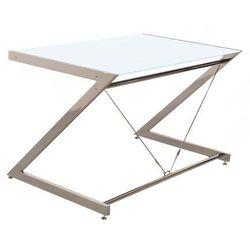Biurko Z-line - Chrom - Computer Desk White, NEGOCJUJ CENĘ