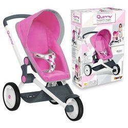 Smoby Wózek Quinny do biegania trójkołowy spacerówka dla lalek Maxi Cosi 255097