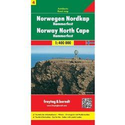 Norwegia. Część 4 - Nordkapp HAMMERFEST. Mapa 1:400 000 (opr. twarda)