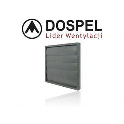 Żaluzja ścienna DOSPEL do instalacji wywiewnej 400mm (RKZ450)