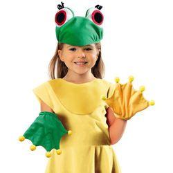 Zestaw Żabka rękawiczki i czapka