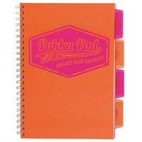 Zeszyty, Kołozeszyt Pukka-Pad Project Book Neon 7300 B5/200k. kratka