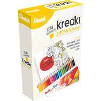 Kolorowanki, Kredki PENTEL CB8-24 zestaw z kolorowanką