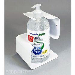 Uchwyt na ścianę z żelem dezynfekującym 500 ml