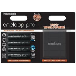 Akumulator PANASONIC Eneloop Pro R6 AA 2500mAh 4szt. + etui