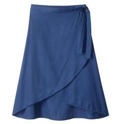Spódnica kopertowa bonprix kobaltowy