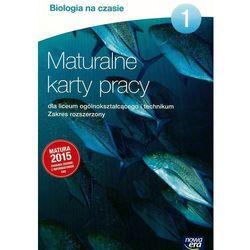 Biologia Na Czasie. Maturalne Karty Pracy 1. Zakres Rozszerzony. Szkoła Ponadgimnazjalna