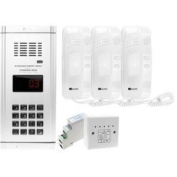 Zestaw domofonowy 3 rodzinny WL-03NL