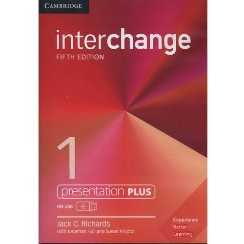 Książki do nauki języka, Interchange 1 Presentation Plus USB - Richards Jack C. DARMOWA DOSTAWA KIOSK RUCHU