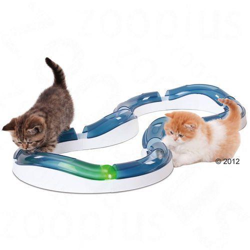 Pozostałe zabawki, Catit Design Senses Super Roller, szyna do zabawy - 2 podświetlane piłki wymienne | -5% Rabat na pierwsze zamówienie | DARMOWA Dostawa od 99 zł