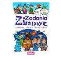 Książki dla dzieci, Malowanka 165x235 zimowe zadania lit (opr. broszurowa)
