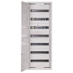 WYPRZEDAŻ Rozdzielnica modułowa natynkowa 126 modułów IP30 440x1205x132 Biała z zamkiem NRPSM 126 7X18 Z