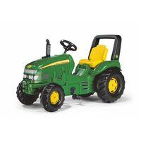 Traktory dla dzieci, Rolly Toys Traktor X-Trac John Deer Zielony - BEZPŁATNY ODBIÓR: WROCŁAW!