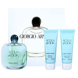 Armani Acqua di Gioia woda perfumowana 100 ml + żel pod prysznic 75 ml + mleczko do ciała 75 ml