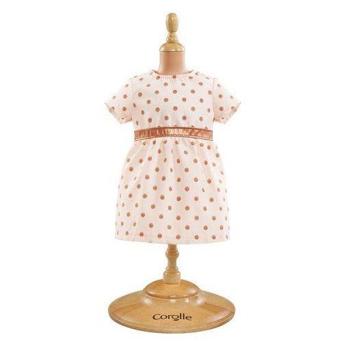 Ubranka dla lalek, Ubranko dla lalki Mon Premier Corolle - Pink Gold Dress 887961288346