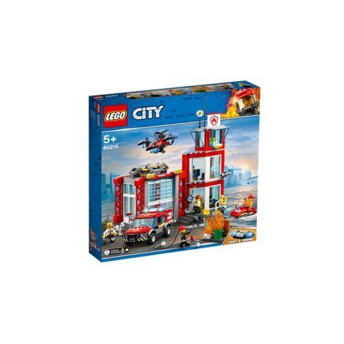 Klocki dla dzieci, LEGO Polska City Remiza strażacka