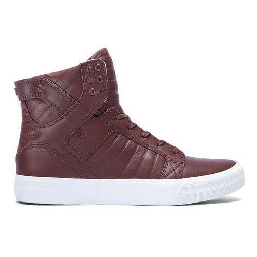 Męskie obuwie sportowe, buty SUPRA - Skytop Hf Chocolate-Off White (CHO)