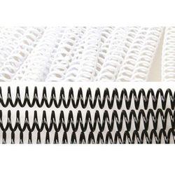 Grzbiety do bindowania spiralne, czarne, 12 mm, 100 sztuk, oprawa do 90 kartek - Super Ceny - Rabaty - Autoryzowana dystrybucja - Szybka dostawa - Hurt