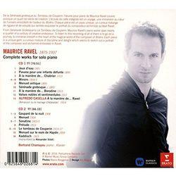 RAVEL: PIANO WORKS - Bertrand Chamayou (Płyta CD)