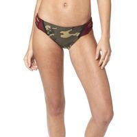 Stroje kąpielowe, Fox Corbin Dół bikini sznurowany Kobiety, camo S 2019 Kąpielówki