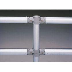 Poręcz systemowa z rurki stalowej, Ø rurki poprzecznej 48 mm, ocynkowanie, dł. 1