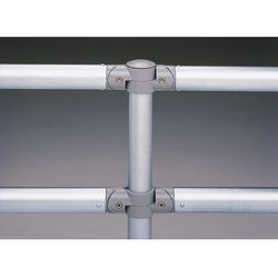 Poręcz systemowa z rurki stalowej, Ø rurki poprzecznej 48 mm, ocynkowanie, dł. 2