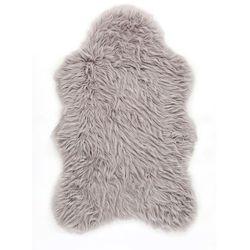 Dywanik ze sztucznej skóry owczej Premium bonprix srebrny
