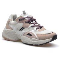 Damskie obuwie sportowe, Sneakersy WL01650A Białe/Różowe