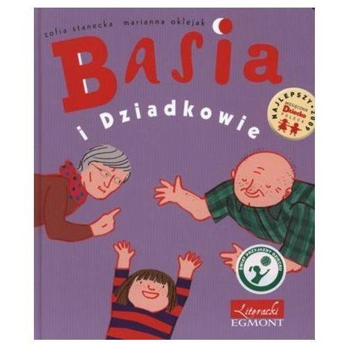 Książki dla dzieci, Basia i Dziadkowie (opr. twarda)