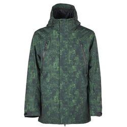 kurtka BONFIRE - Static Ins Jacket Green Watercolor (GRW) rozmiar: S