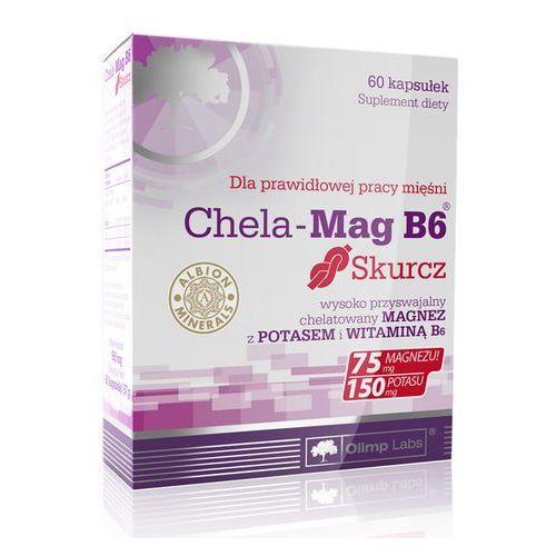 Witaminy i minerały, Chela-Mag B6 Skurcz kaps. x 60