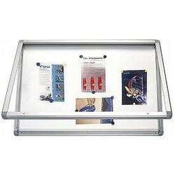 Gablota informacyjna suchościeralno magnetyczna 90x60cm 2x3 GS196
