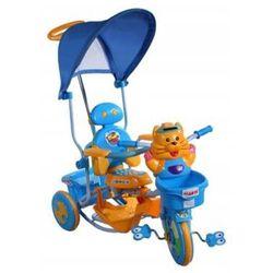 Rower trójkołowy Tygrysek 2880 niebieski