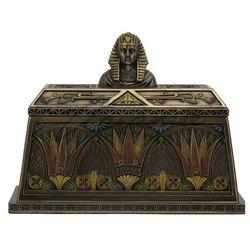 EGIPSKA SZKATUŁKA Z FARAONEM VERONESE (WU76532A4)