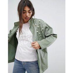 ASOS DESIGN Pearl Jacket - Green