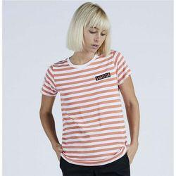 koszulka NIKITA - Maxine Ss Tee Coral Reef-White Stipe (COR) rozmiar: L