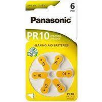 Baterie, Baterie do aparatów słuchowych PANASONIC PR10 6szt.
