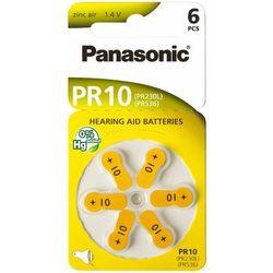 Baterie do aparatów słuchowych PANASONIC PR10 6szt.