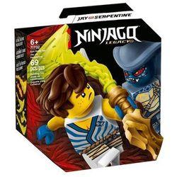 Lego NINJAGO Epicki zestaw bojowy jay kontra wężon wygrywaj w loterii masters 71732