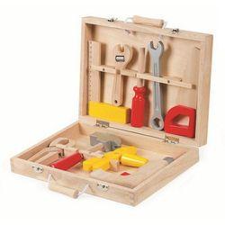 Drewniana Walizeczka z narzędziami Bricolo Janod J06488