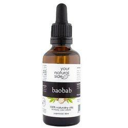YOUR NATURAL SIDE Olej Z Baobabu Nierafinowany 50ml