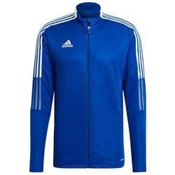Bluza męska adidas Tiro 21 Track niebieska GM7320