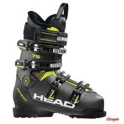 Buty narciarskie Head Advant Edge 75 Anthracite/Black/Yellow 2018/2019