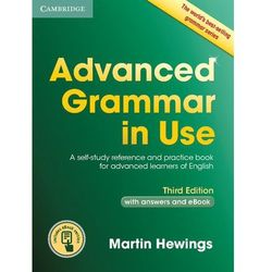 Advanced Grammar in Use with answers and Interactive eBook * natychmiastowa wysyłka od 3,99