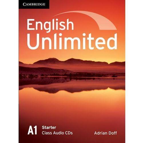Książki do nauki języka, English Unlimited Starter Class Audio CDs (2) (opr. kartonowa)