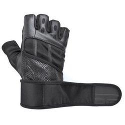 Rękawice fitness SPOKEY Rayo III Czarny (rozmiar L)