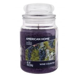 Yankee Candle American Home Wine Country świeczka zapachowa 538 g unisex