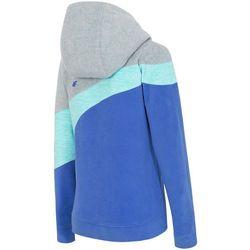 Bluza polarowa damska 4F PLD003Z jasny szary melanż 4f na m14 (-36%)